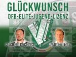 GLÜCKWUNSCH zur DFB ELITE-JUGEND-LIZENZ