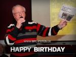 Herzlichen Glückwunsch - Werner Lihsa wird 77