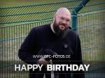 Glückwunsch: Fanbetreuer Sebastian Stauch feiert Geburtstag