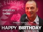 Legende - Andreas Thom feiert 55. Geburtstag