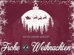 Der BFC DYNAMO wünscht eine besinnliche Weihnachtszeit