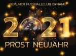 Prost Neujahr - Herzlich willkommen 2021