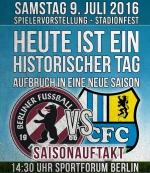 Saisonauftakt & Stadionfest gegen den Chemnitzer FC