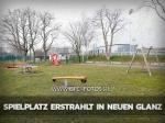 Sportforum: Spielplatz erstrahlt in neuem Glanz