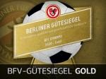 Auszeichnung: BFC Dynamo erhält erneut das BFV-Gütesiegel in Gold