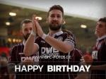 Glückwunsch: Vincent Rabiega feiert 26. Geburtstag