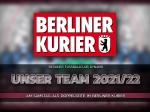 Doppelseite: Unser Mannschaftsfoto im Berliner Kurier
