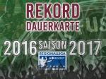 Dauerkarte 2016/17 - Fans sorgen für neuen Rekord