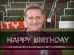 Wir gratulieren: Christian Backs feiert 59. Geburtstag