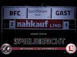 Derbysieg: Siebeck-Treffer lässt Sportforum beben