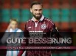 Gute Besserung: Ex-Kapitän Bilal Cubukcu erneut mit schwerer Verletzung