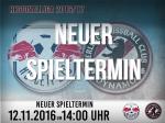 Neuer Spieltermin RB Leipzig - BFC DYNAMO