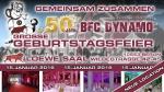 50 Jahre BFC DYNAMO - NUN ALLE ZUSAMMEN!