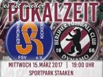 Berliner Pilsner-Pokal : Viertelfinale terminiert