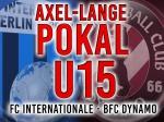 Axel-Lange-Pokal: Viertel- und Halbfinale ausgelost