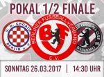 Pokal-Halbfinale ist auf den 26.03.2017 angesetzt worden