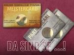 MEISTERCARD & PARTNERCARDs eingetroffen | Prämie für den 75. Online-Käufer