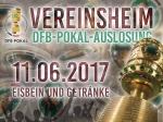 VEREINSHEIM LIVE - Auslosung der 1. Hauptrunde im DFB-Pokal 2017/18