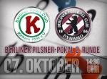 2. Hauptrunde im Berliner Pilsner-Pokal genau terminiert
