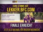 BFC Dynamo zieht ins Finale des lekker Vereinswettbewerbs ein