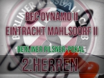 Berliner Pilsner-Pokal der 2. Herren: Neuauflage des letztjährigen Finales