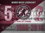 Weinrot-weiße Leidenschaft - 52 Jahre BFC Dynamo
