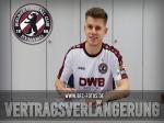 Mister 100% - Björn Lambach trägt auch 2018/19 weinrot