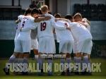 Sonntag: Fussball im Doppelpack