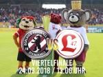 Berliner Pilsner-Pokal: Wer bucht das Ticket für das Halbfinale?