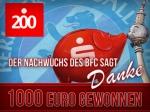 200 Jahre Berliner Sparkasse: Eure Stimmen waren 1.000 Euro wert