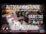 Autogrammstunde: Der BFC Dynamo zu Gast in den Schönhauser Allee Arcaden