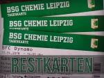 BSG Chemie Leipzig: Restkarten gehen in den Verkauf