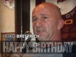 Ein Fußballgott wird 53 - Alles Gute Heiko Brestrich