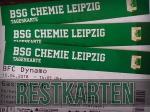 BSG Chemie Leipzig: Nur noch wenige Restkarten erhältlich