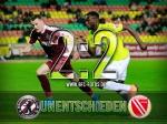 Remis im Spitzenspiel - 2:2 gegen den FC Energie Cottbus
