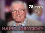 Werner Lihsa wird 75 - Wir gratulieren