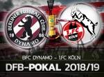 DFB-Pokal: Der BFC DYNAMO freut sich auf den 1. FC Köln