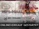 DFB-Pokal: BFC Dynamo startet Online-Ticketverkauf