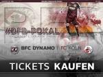 Saisoneröffnung/DFB-Pokal: Kartenverkauf für die Gegengerade am Fanartikelstand