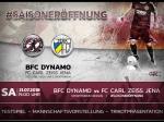 Saisoneröffnung gegen den FC Carl Zeiss Jena mit großem Rahmenprogramm