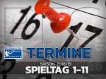 Regionalliga Nordost: Spiele bis zum 11. Spieltag terminiert