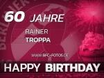 BFC-Legende: Rainer Troppa feiert 60. Geburtstag
