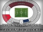 DFB-Pokal: Welche Blöcke des Olympiastadions sind geöffnet?