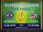 DFB-Pokal: Mehrere hundert Plakate werben für das Spiel gegen den 1. FC Köln
