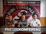 DFB-Pokal: Pressekonferenz im Vorfeld der Partie gegen den 1. FC Köln