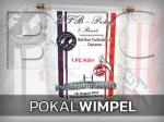 DFB-Pokal: Fortführung einer langen Tradition - der Wimpel zum Spiel