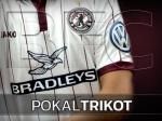 DFB-Pokal : Trikot zum Spiel in limitierter Auflage erhältlich