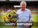 Mannschaft schenkt Norbert Uhlig drei Punkte zum Geburtstag