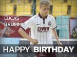 Lucas Brumme feiert - wir gratulieren