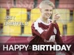 Joey Breitfeld feiert Geburtstag - wir gratulieren
